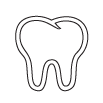 Bliley Dental Teeth Removal Icon