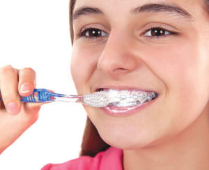 Bliley Dental Brushing and Flossing with Braces